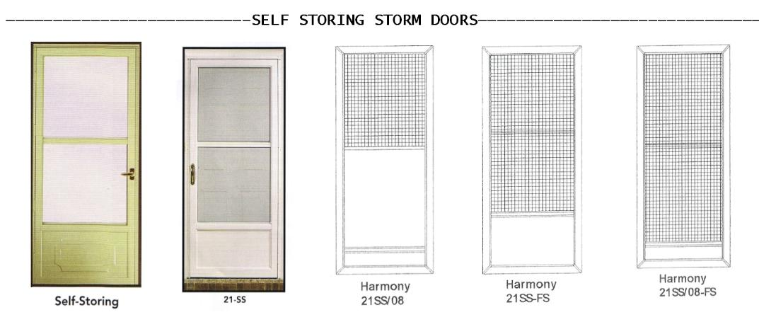Storm Door Color Choices Click On To Enhance Image Colors May Vary From  Picture. Stop By Our Office To See A Color Sample.